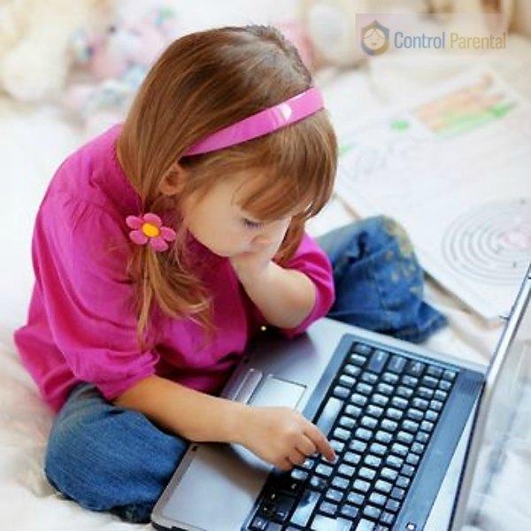 Control parental niña ordenador GuiaInfantilcom