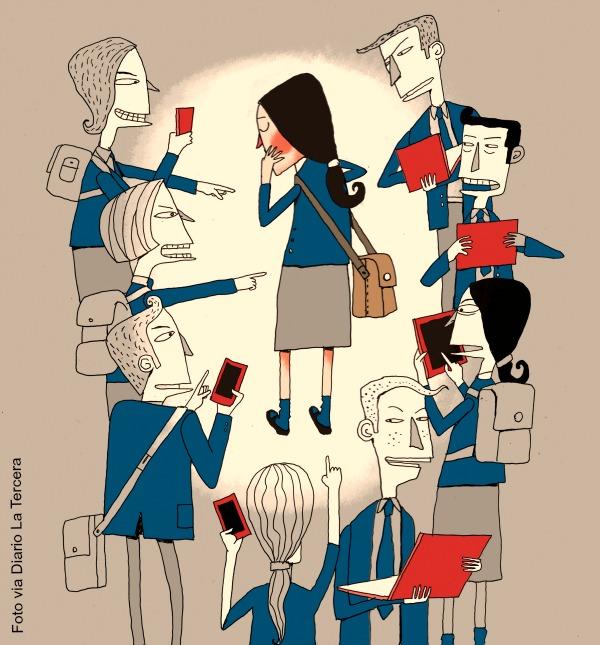 El ciberbullying es un acoso entre iguales
