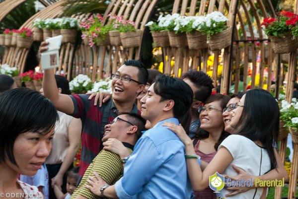 Selfies de grupo