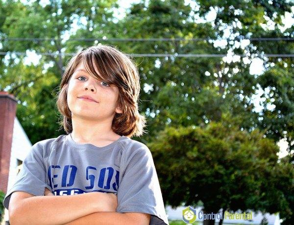 Los niños maltratadores se oponen a las normas