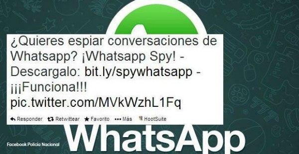 """Recientemente ha surgido otra nueva estafa, la App """"WhatsApp Edición de Oro"""", que invita a seguir un link y a realizar una descarga, que si se llega a completar, incluye a la persona en unas condiciones de tarificación especial que se le cargan a final de mes en su propia factura, y que alcanzan cifras como1,45euros por sms recibido + navegación wap, max 36,25 euros (IVA incluido)/mes)."""