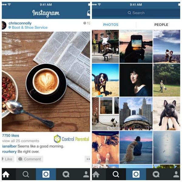 Instagram se ideó en un principio para centrarse en la fotografía, pero se ha convertido en un lugar de encuentro entre adolescentes, donde se comunican con microchats teniendo como vínculo el atractivo de las imágenes.