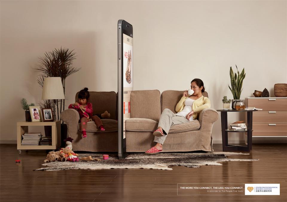 El gigante chino se preocupa por la forma en que los móviles afectan a la relación con los hijos