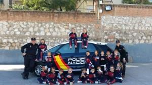 cp Policia amigos niños