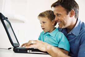 Cp privacidad RRSS padre hijo pequeño