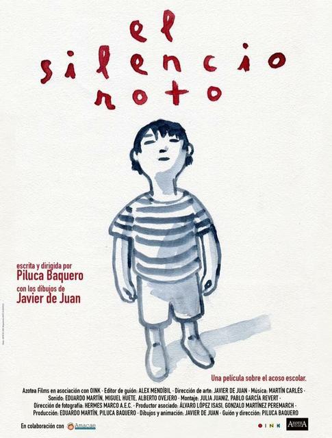 CP El silencio roto cartel