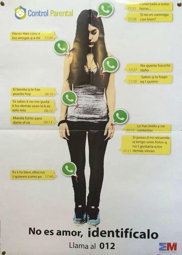 Debemos detectar el maltrato por Texting