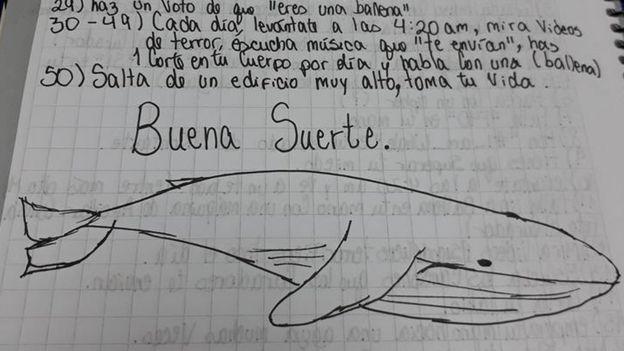 CP ballena azul hoja