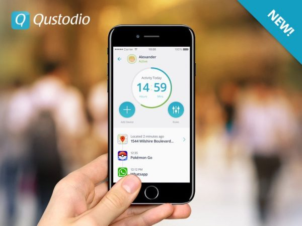 La versión de la App para padres les da información en tiempo real