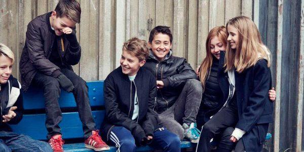 niños grupo