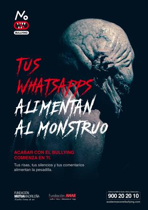 CP ANAR monstruo Whasapps